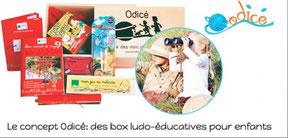 La box enfant Odice fait decouvrir le monde avec un coffret cadeau mensuel plein de surprises educatives et ludique pour les enfants de 3 a 10 ans