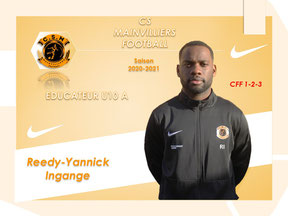 CS Mainvilliers Football Reedy-Yannick Ingange