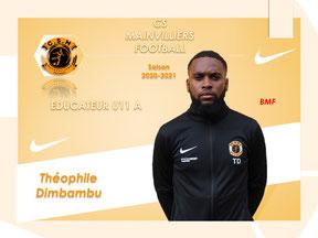 CS Mainvilliers Football Théophile Dimbambu