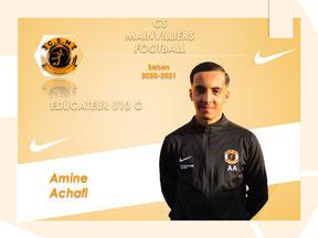 CS Mainvilliers Football Amina Achafi