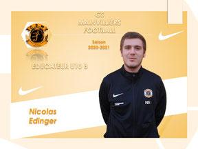 CS Mainvilliers Football Nicolas Edinger