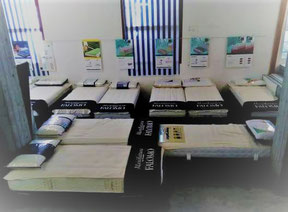 vendita materassi ferrara vendita reti ferrara vendita cuscini ferrara vendita guanciali ferrara esposizione showroom