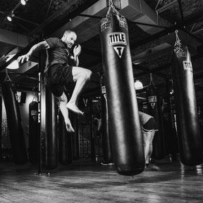 MMA Heavybag Minimalist Biohacker Strength and Stamina