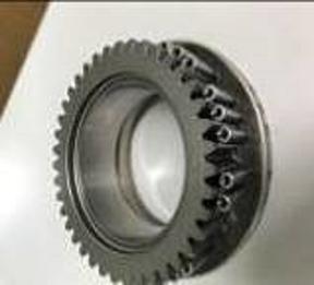 特殊冶具と歯車セット図