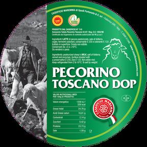 maremma sheep sheep's cheese dairy pecorino caseificio tuscany spadi follonica label italian origin milk italy pdo fresh certified tuscan