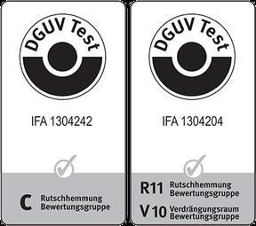 DGUV Test 1304242 / 1304204