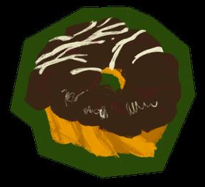 チョココーティングドーナツ