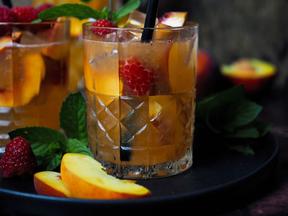Pfirsich-Ingwer-Limonade