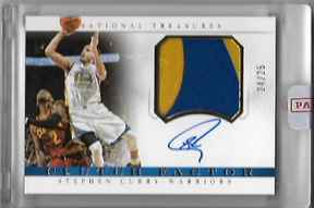STEPHEN CURRY / Auto Patch #d/25