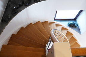 Treppen Wendeltreppe Eiche