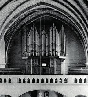Le grand-orgue en 1931