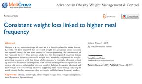 Última publicación de Entrenador Personal Virtual: Relación entre frecuencia de comidas y pérdida de peso