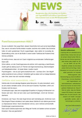 """Themenletter Juni 17 """"Familienzusammen-HALT"""""""