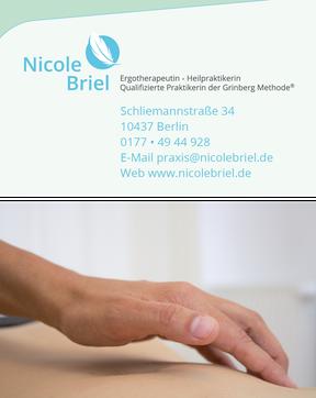 Nicole Briel - Visitenkarte