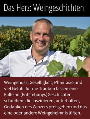 Weingenuss, Geselligkeit, Phantaise und viel Gefühl für die Trauben lassen eine Fülle an Weingeschichten schreiben, die die Gedanken des Winzers Hans-Jürgen Hufnagel aus Neckenmarkt preisgeben und andere Weingeheimnisse lüften