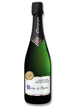 Blanc de Noirs is an extra brut champagne which is exclusively elaborated with black grapes variety : pinot noir and pinot meunier
