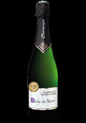 La cuvée Blanc de Noirs est un champagne extra brut élaboré exclusivement à base de raisins noirs : pinot meunier et pinot noir