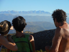 séjour zen en aragon sierra de guara nocito refuge san urbez bien-etre ressourcement therapies holistiques marche consciente