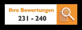 231-240 - Bewertungen Ihrer Kauferfahrungen beim Gebrauchtwagenkauf bei aaf Automobile am Flughafen, Hamburg-Norderstedt