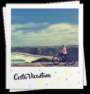 Costa Vicentina, Algarve Bike, alugar bicicleta eléctrica em Aljezur