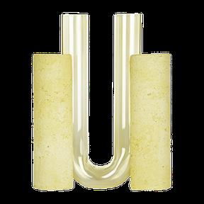 yellow vase wabi sabi