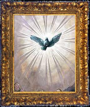 Rosendraht Rosendraht.de Schmuck Schmuckmanufaktur gesegnet Segen Jesus Maria Gott Heiliger Geist Trinität Glauben spirituell Rosenkranz Gebetskette Talisman Taube Erleuchtung