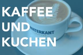 Kaffee und Kuchen im vju im Energiebunker