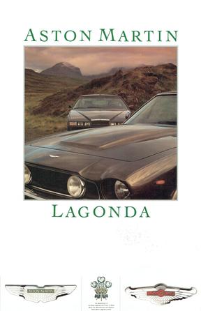 Aston Martin Lagonda 1986 Sales Booklet