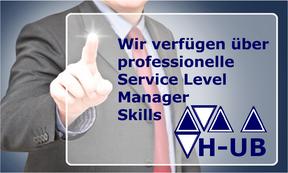 Hettwer UnternehmensBeratung GmbH - Spezialisierte Beratung im Finanzdienstleistungssektor - Projektexpertise bei Banken & Versicherungen – Rollen Skill Service Level Manager - www.hettwer-beratung.de