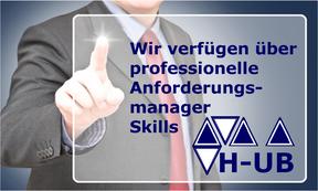 Hettwer UnternehmensBeratung GmbH - Spezialisierte Beratung im Finanzdienstleistungssektor - Projektexpertise bei Banken & Versicherungen – Rollen Skill Anforderungsmanager - www.hettwer-beratung.de
