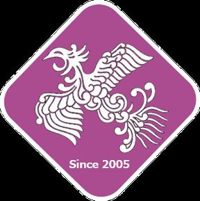 紫宝梅 『ミスなでしこⓇ』通り名ロゴ 和×夢 nagomu farm