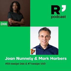 R'damse Nieuwe politiek podcast met Joan Nunnely en Mark Harbers. (S03 E01, 26-2-21, 60min)