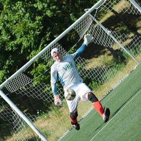 Torhüter beim Fußball: Lutz Teisler