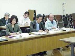 水族館推進計画の策定委員会が開かれた=26日
