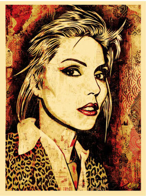 Shepard Fairey Debbie Harry Blondie