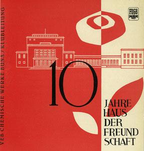 Festschrift des Kulturhauses Schkopau