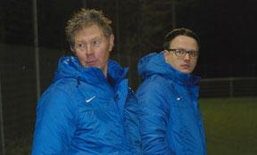 Harry Drent und Henning Baumann