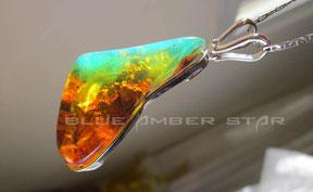 blue amber jewelry