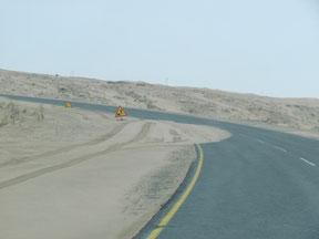 auf dem Weg nach Lüderitz
