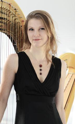 Johanna Welsch, Harfe