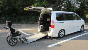 福祉車両 TOYOTA ノア 車いす -福祉タクシー生活サポートさくら