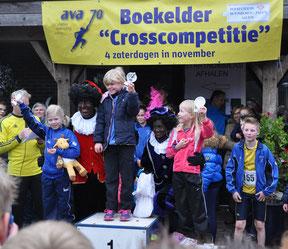 Enya Peukert sicherte sich den Gesamtsieg bei den 6- bis 7-jährigen Mädchen.