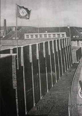 Die Firma Gebr. Heller in Nürtingen während der NS-Zeit, aus:  Manuel Werner: Heller. Gebrüder mit unterschiedlichen Verdiensten, Nürtinger Stattzeitung vom 29. 05. 2005,