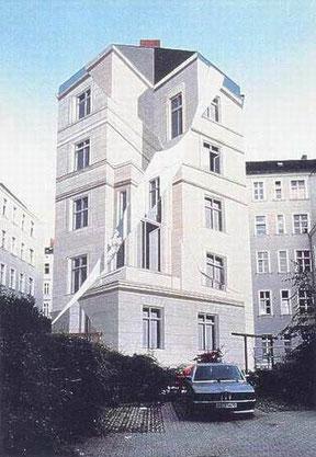 Gert Neuhaus Wandbild/Mural Gebrochene Fassade
