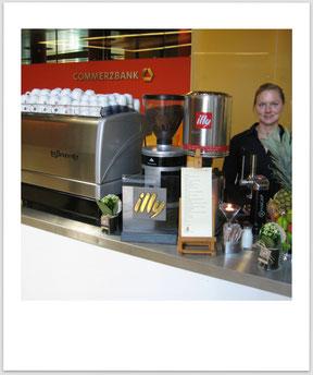 NLC Coffeebar, Sommerfest der Commerzbank Lux