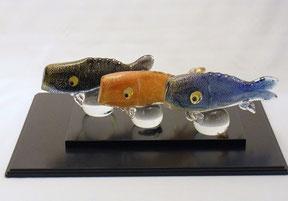 ノグチミエコ 「鯉のぼり 錦」