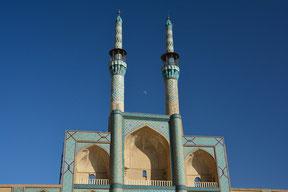 Minarette der Meydan-e Mir Chaqmaq – Moschee