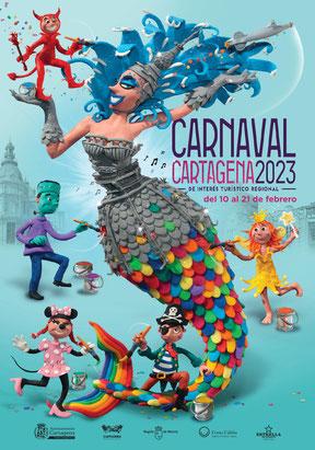 Fiestas en Cartagena Carnaval Cartel y Programa
