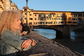 Fleuve Arno (Florence-Italie)