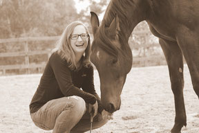 Herzensweg mit Pferd